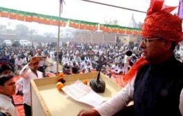 भाजपा नेता राजेश नागर के लिए नीमका में उमड़ा जनसैलाब