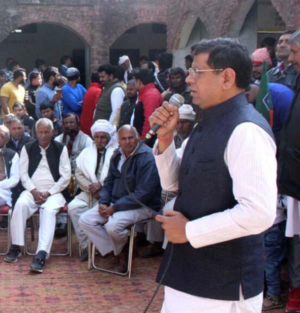 भाजपा कर रही बिना भेदभाव सबका विकास - राजेश नागर