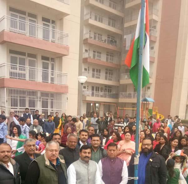 गणतंत्र दिवस हमारे सम्मान का प्रतीक दिवस - राजेश नागर