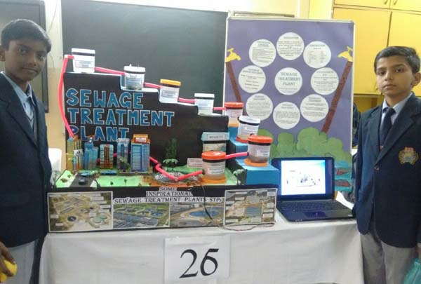 विज्ञान प्रदर्शनी प्रतियोगिता में सूरजकुंड इंटरनेशनल स्कूल के छात्रों ने प्राप्त किया पाँचवाँ स्थान