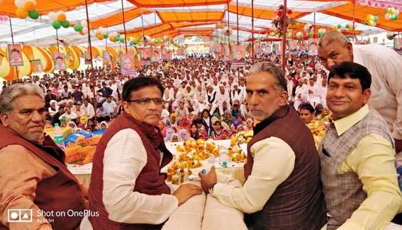 बलदेव अलावलपुर द्वारा आयोजित आभार रैली में उमड़ा जनसैलाब