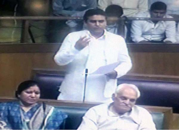 तिगांव क्षेत्र की उपेक्षा को लेकर फिर विधानसभा में गरजे विधायक ललित नागर