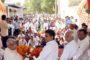 आप नेता गिर्राज शर्मा ने रैली की सफलता को लेकर बाटे लड्डू