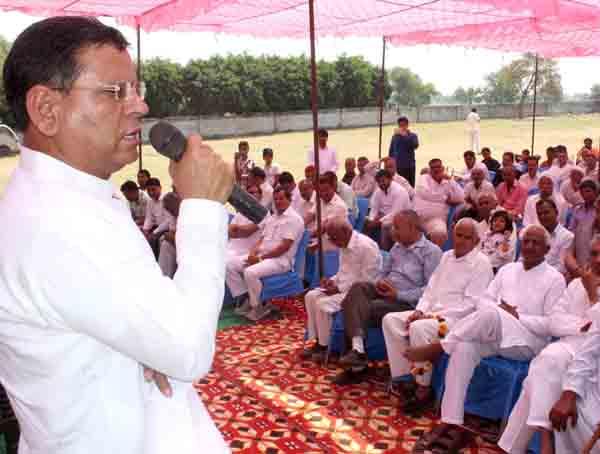 वरिष्ठ  भाजपा नेता राजेश नागर का हुआ जोरदार स्वागत