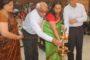 विधायक टेकचंद शर्मा ने किया नवनिर्वाचित राज्यसभा सांसद का जोरदार स्वागत