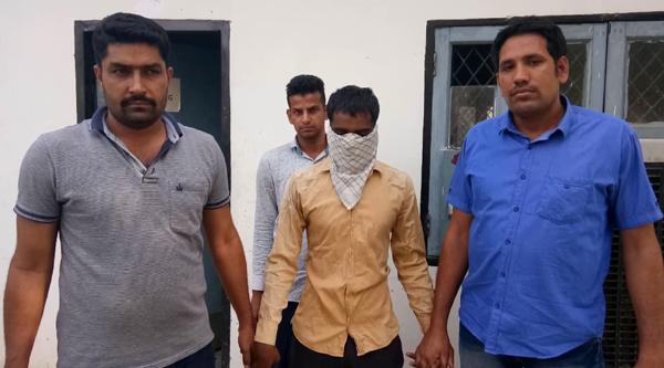 उत्तरप्रदेश का आरोपी फरीदाबाद में गिरफ्तार