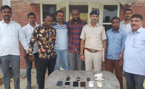 Three Accused Arrest by Nit Crime Branch