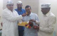 आप नेता ने दिल्ली के मुख्यमंत्री को दी जन्मदिन की बधाई