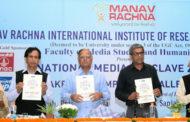 Manav Rachna organized National Media Conclave