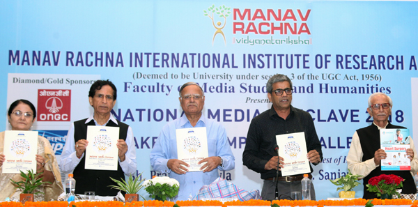 Manav Rachna organized National Media Conclave