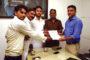 15 वर्षीय शिव भक्त को धर्मबीर भड़ाना ने स्मृति चिन्ह् देकर किया सम्मानित