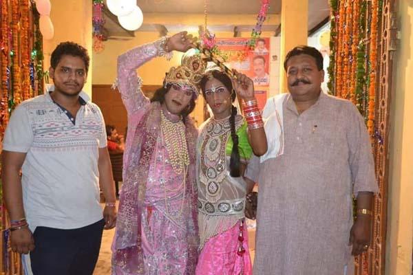 मां पीताम्बरा सिद्धपीठ मंदिर में धूमधाम से मनाई गई श्री कृष्ण जन्माष्टमी