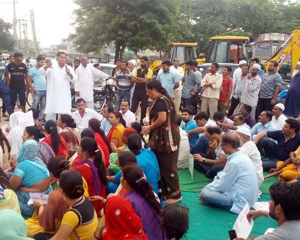 ठेकों की बढ़ती संख्या के चलते शहर में क्राइम का ग्राफ बढ़ा : धर्मबीर भड़ाना