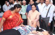 मानव रचना परिवार ने  किया  1220 यूनिट रक्त दान