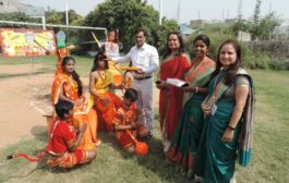 सूरजकुंड इंटरनेशनल स्कूल में मनाया गया विजयादशमी का उत्सव '