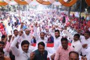 भाजपा सरकार में कर्मचारियों को लाठियों के रुप में मिले अच्छे दिन : विकास चौधरी