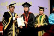 लिंग्याज विद्यापीठ में मनाया 7वां वार्षिक दीक्षांत समारोह