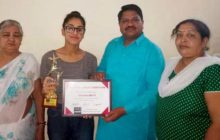 दीक्षा भाटी ने फाईनल टैक डांस कम्पीटीशन भारत में प्रथम स्थान प्राप्त किया