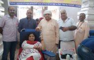 सिद्धपीठ महारानी वैष्णोदेवी मंदिर में रक्तदान शिविर का आयोजन हुआ