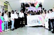 आई. एल. आर जसाना में चुनाव जागरूकता और रैली का आयोजन