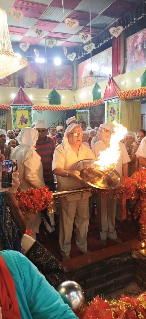 सिद्धपीठ श्री महारानी वैष्णोदेवी मंदिर में सातवें नवरात्रे पर महाकालरात्रि का भव्य पूजन