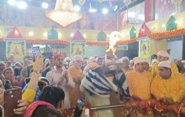 पांचवें नवरात्रों पर महारानी वैष्णोदेवी मंदिर में हुई स्कंद माता की भव्य पूजा अर्चना
