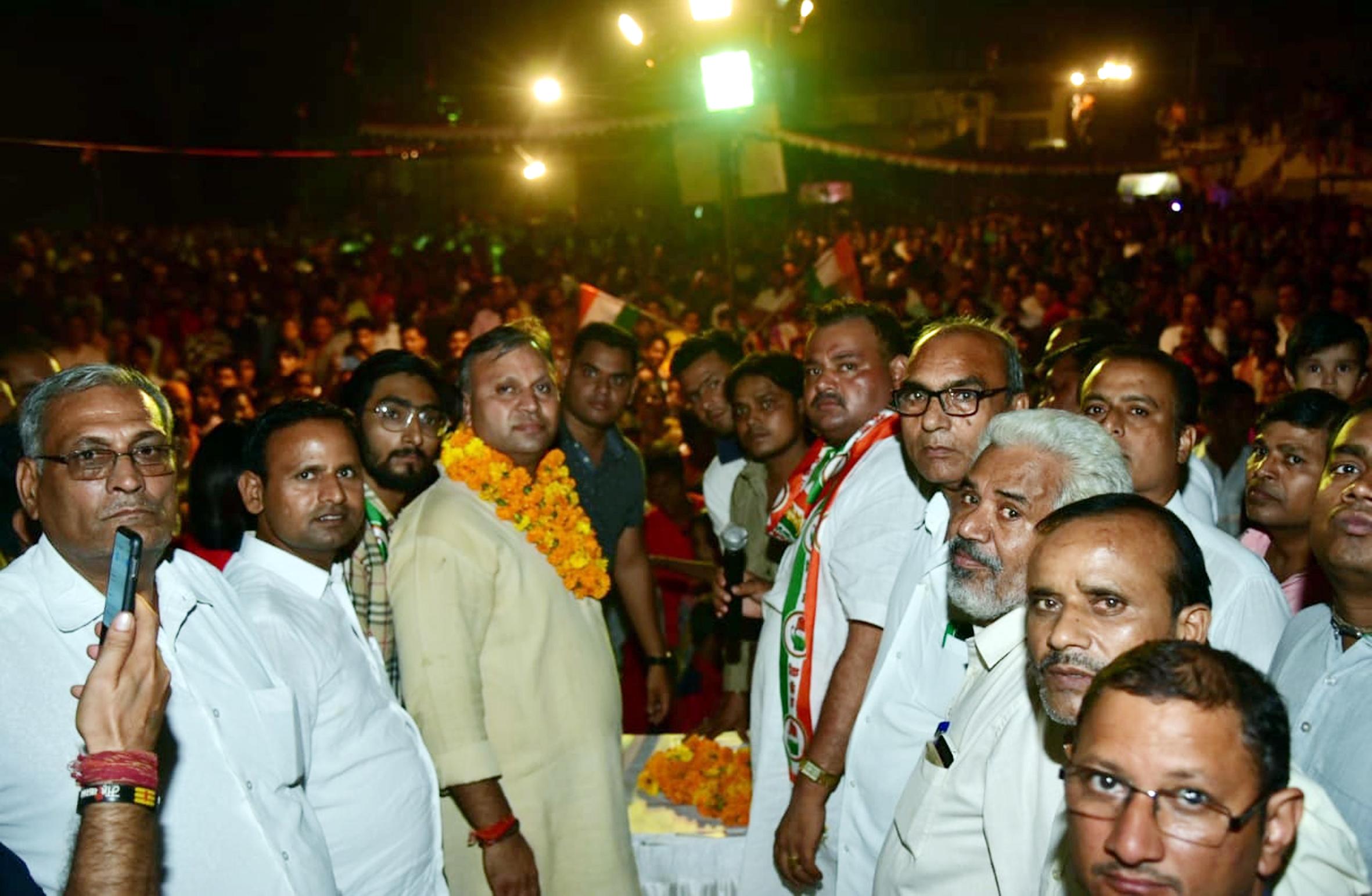 कांग्रेस हाईकमान ने जनता की सेवा करने के लिए उन्हें चुनाव के मैदान उतारा : विजय प्रताप सिंह