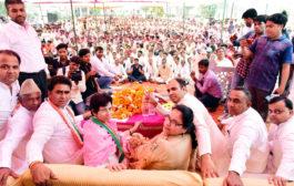 ललित नागर को फिर जिताकर भेजो, सरकार में बड़ी जिम्मेदारी दिलाना मेरा काम:सैलजा