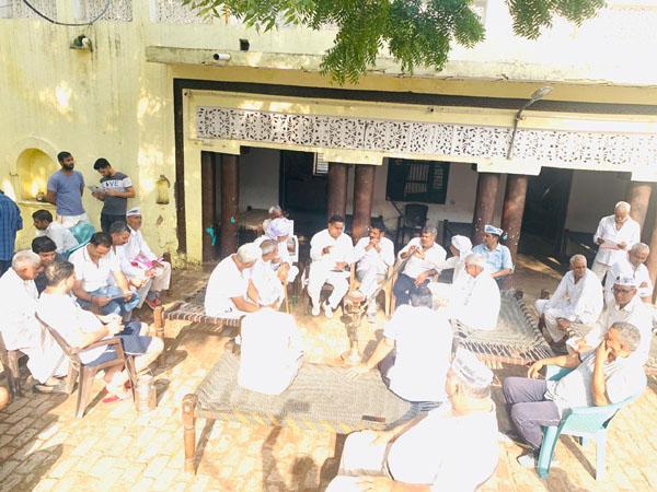 गांव अनंगपुर में आप प्रत्याशी धर्मबीर भड़ाना को मिला एक तरफा समर्थन