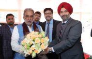 krsinpal gujjar inaugurated cath lab Fortis Escorts Hospital