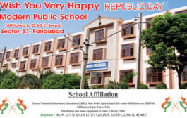 Republic Day greeted by Modern School