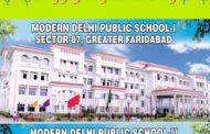 Republic Day greeted by MODERN DELHI PUBLIC SCHOOL