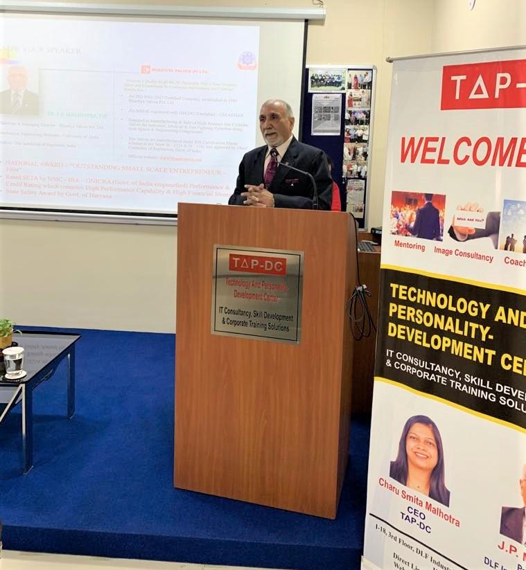 क्वालिटी मैनेजमेंट सिस्टम वास्तव में संस्थान के सर्वागीण विकास के लिए जरूरी कदम, : जेपी मल्होत्रा