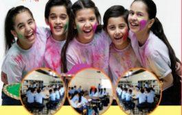 Modern bp school wish to Holi