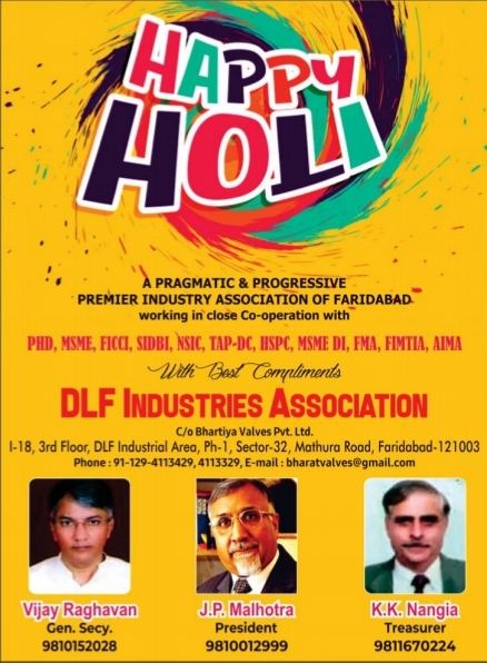 Dlf ass. Wish Holi