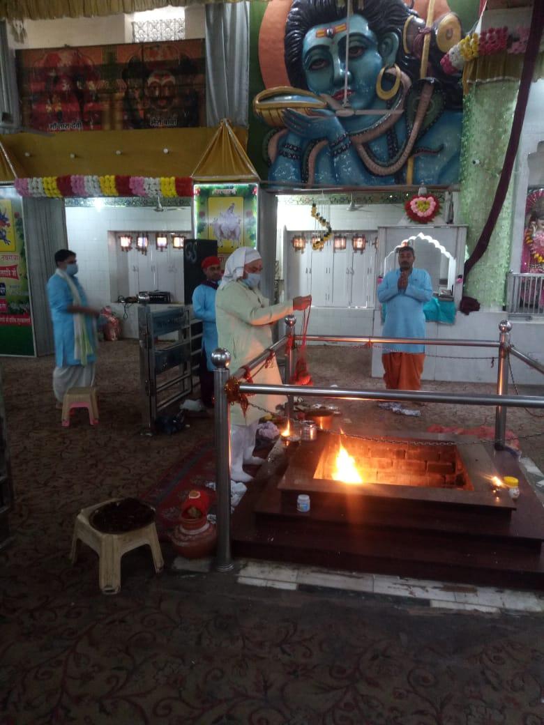 माता वैष्णोदेवी मंदिर में अष्टमी पर हुआ कोरोना रोकथाम प्रार्थना यज्ञ