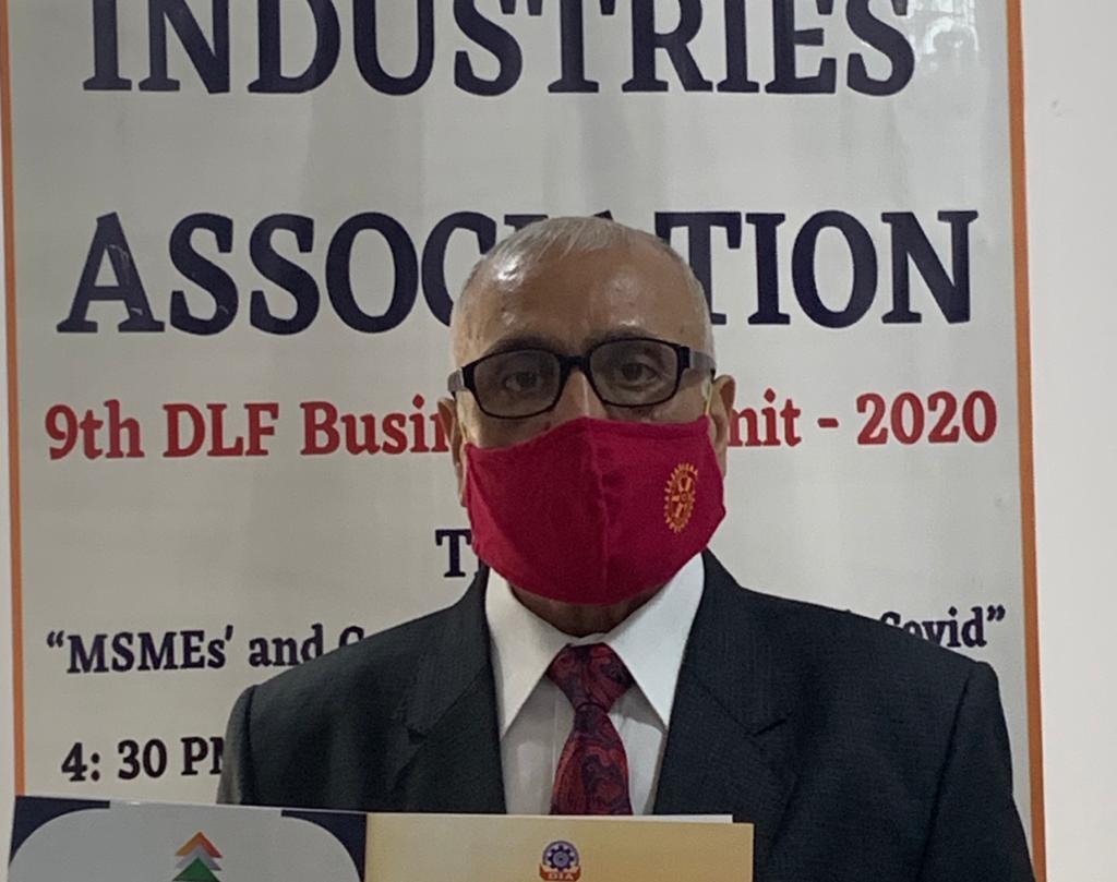 आत्मनिर्भर भारत प्रोजेक्ट हो सकता है एमएसएमई सेक्टर को  सुदृढ़  स्थिति मे लाने में महत्त्वपूर्ण सिद्ध :जेपी मल्होत्रा