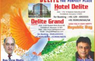 Republic day wish by hotal delite