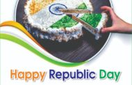 Happy republic day wish by perfect bread