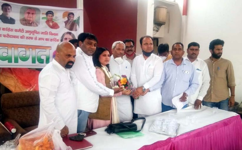 अनुसूचित जाति विभाग कांग्रेस पार्टी को मजबूत करने के लिए हमेशा तत्पर रहेगा : गोपाल डेनवाल