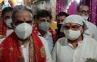 वैष्णोदेवी मंदिर में लगाए गए कोविड वैक्सीन कैंप का केंद्रीय राज्यमंत्री गुर्जर ने किया उदघाटन